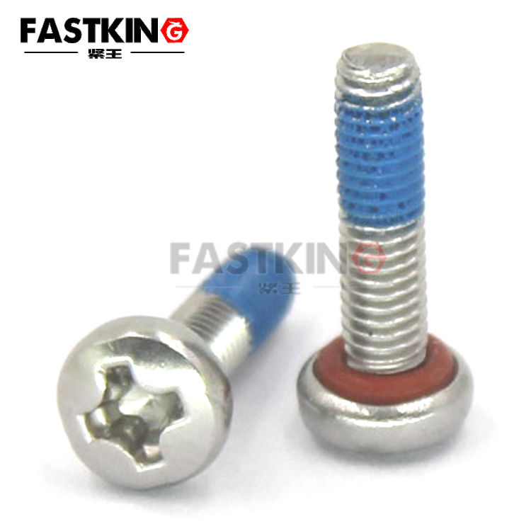 Waterproof O Ring Self Sealing Screws